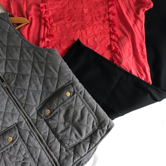 Artisan Ny Jackets & Blazers - Artisan NY quilted vest ✨ spring must have ✨large